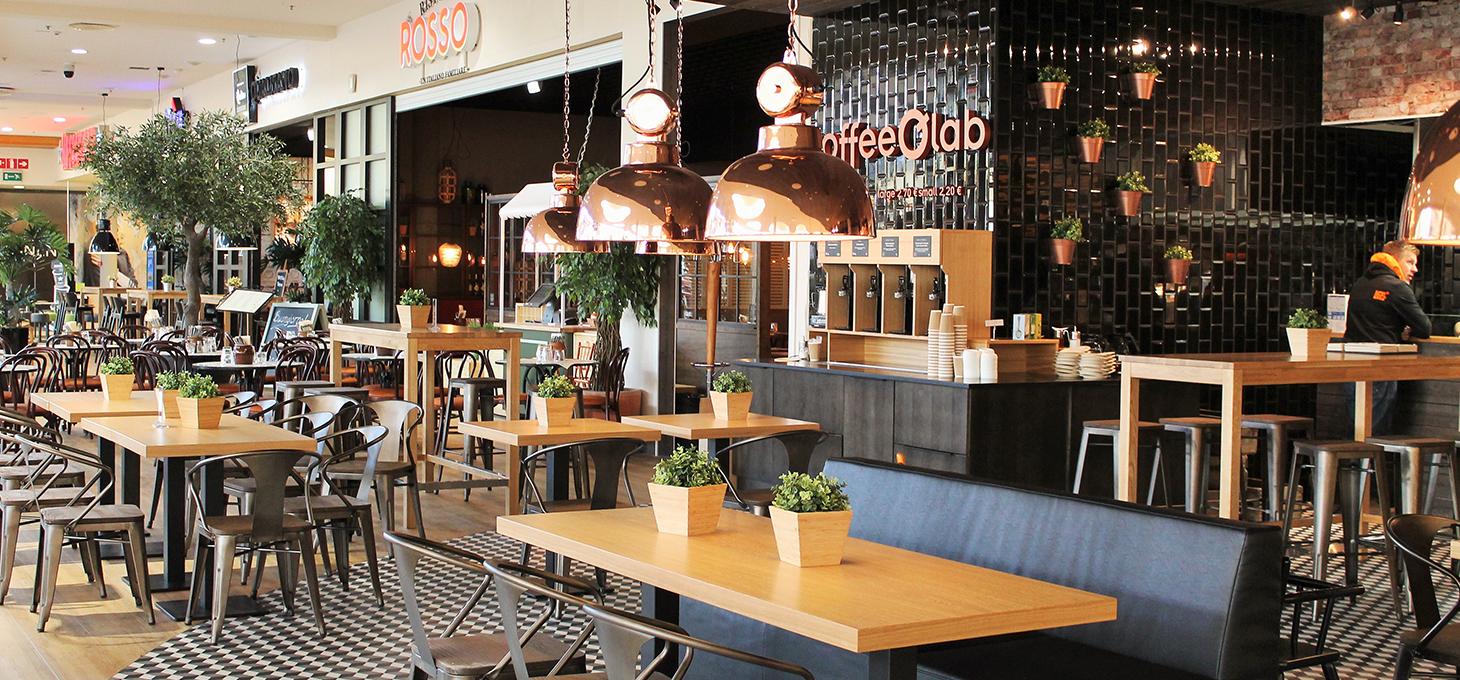 Kauppakeskus Myllyn kahvilat ja ravintolat