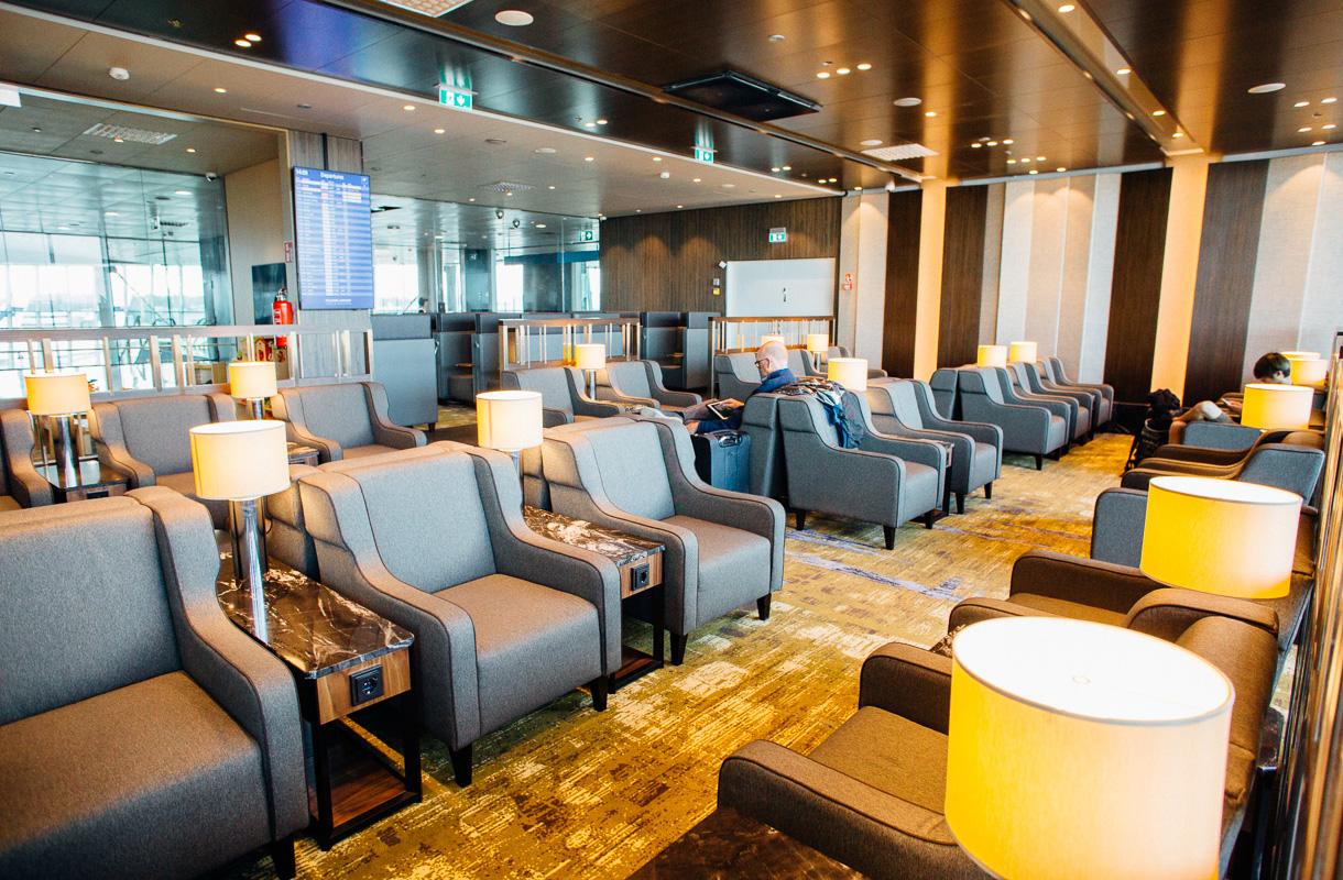 Nojatuolit, Plaza Premium Lounge