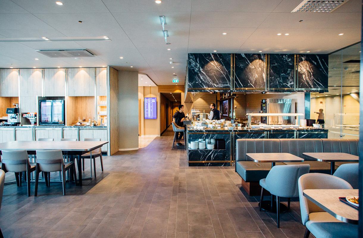 Ruokailutila, Plaza Premium Lounge